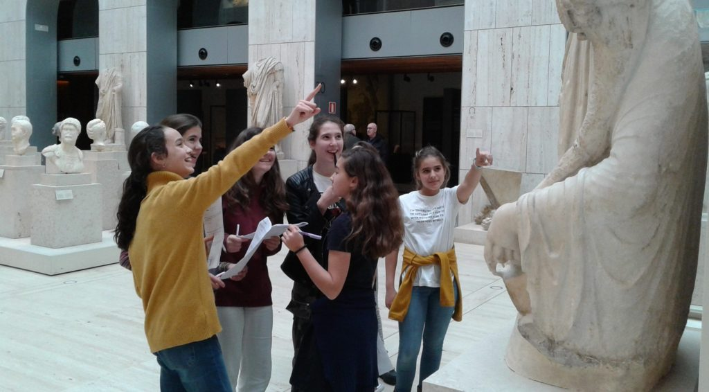 Visita Cultural de las alumnas de 1º de la ESO