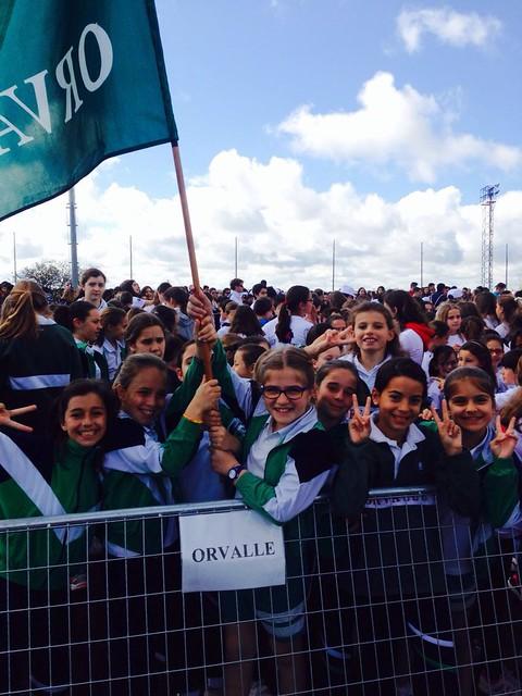 Olimpiadas escolares de Las Rozas (2016)