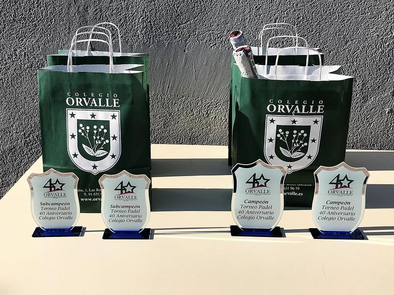 Torneo de Pádel de padres de Orvalle
