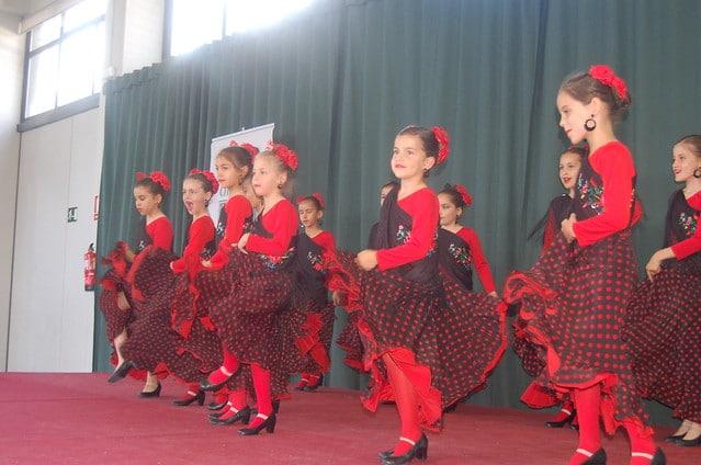 Exhibiciones Extraescolares 2016 - Flamenco