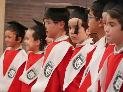 Graduación de 3º de Infantil - Colegio Orvalle (2018)