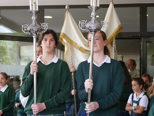 Procesión del Corpus Christi 2018 (Colegio Orvalle)