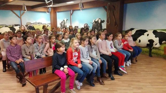 3º Primaria visita la fábrica de Danone