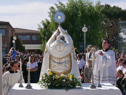 Procesión del Corpus Christi (Orvalle 2019)
