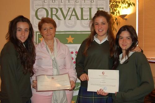 Colegio Orvalle triunfa en Nutrivideo