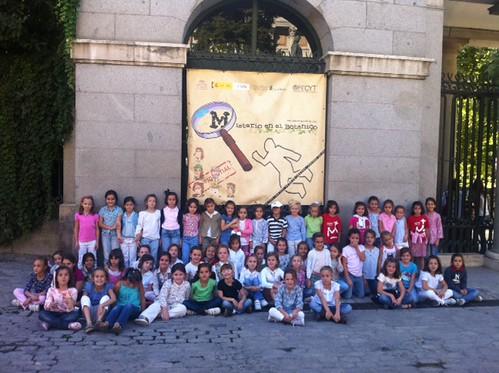 2º de Primaria visita el Jardín Botánico