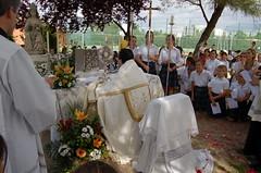 Colegio Orvalle: procesión de Corpus Christi