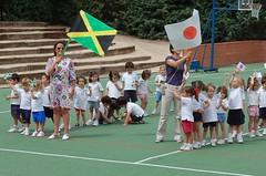 Colegio Orvalle: miniolimpiadas de Infantil