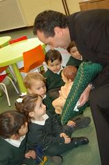 Educación Infantil de Orvalle adora al Niño Dios