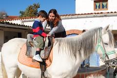 """Infantil visita la Granja """"El Acebo"""""""