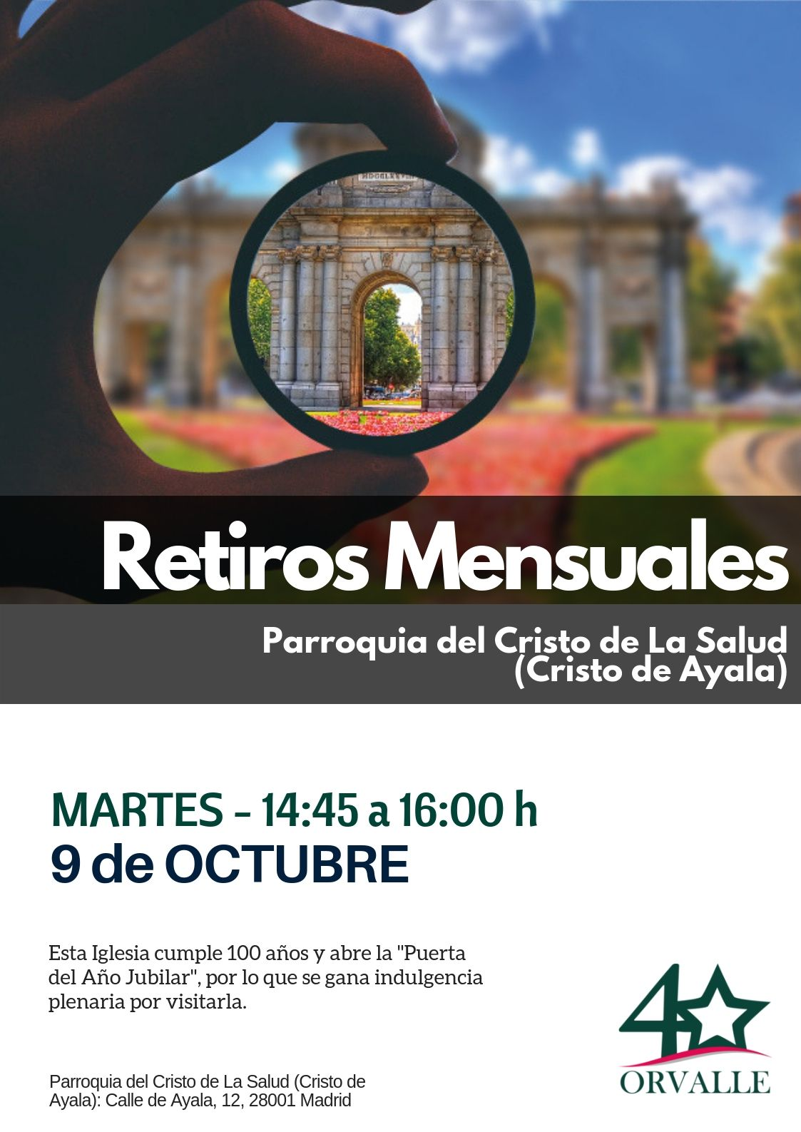 RetiroMensual Madrid