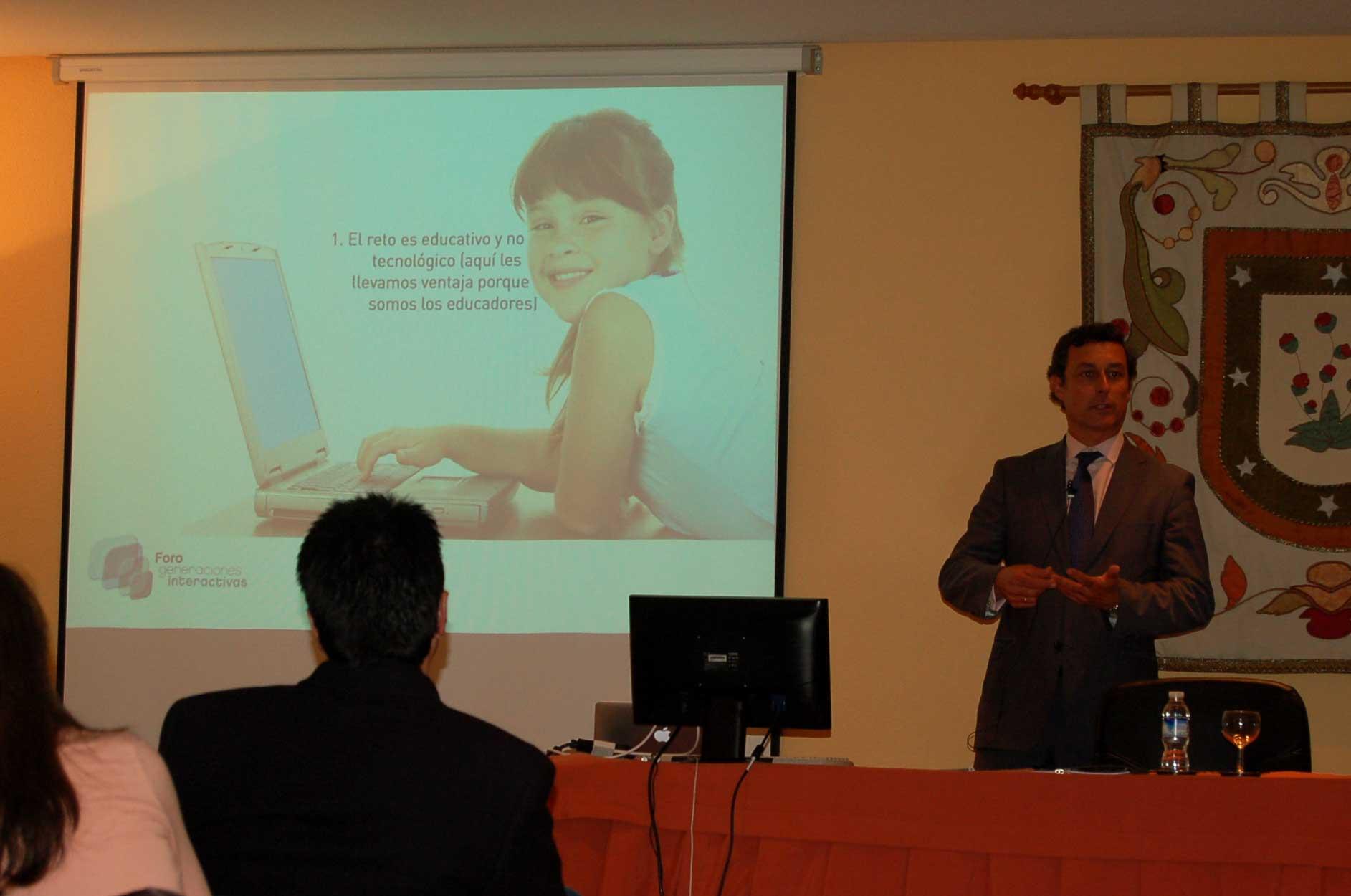 Colegio Orvalle: sesión Generaciones Interactivas