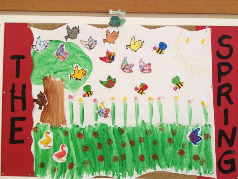 Colegio Orvalle: Infantil recibe la Primavera