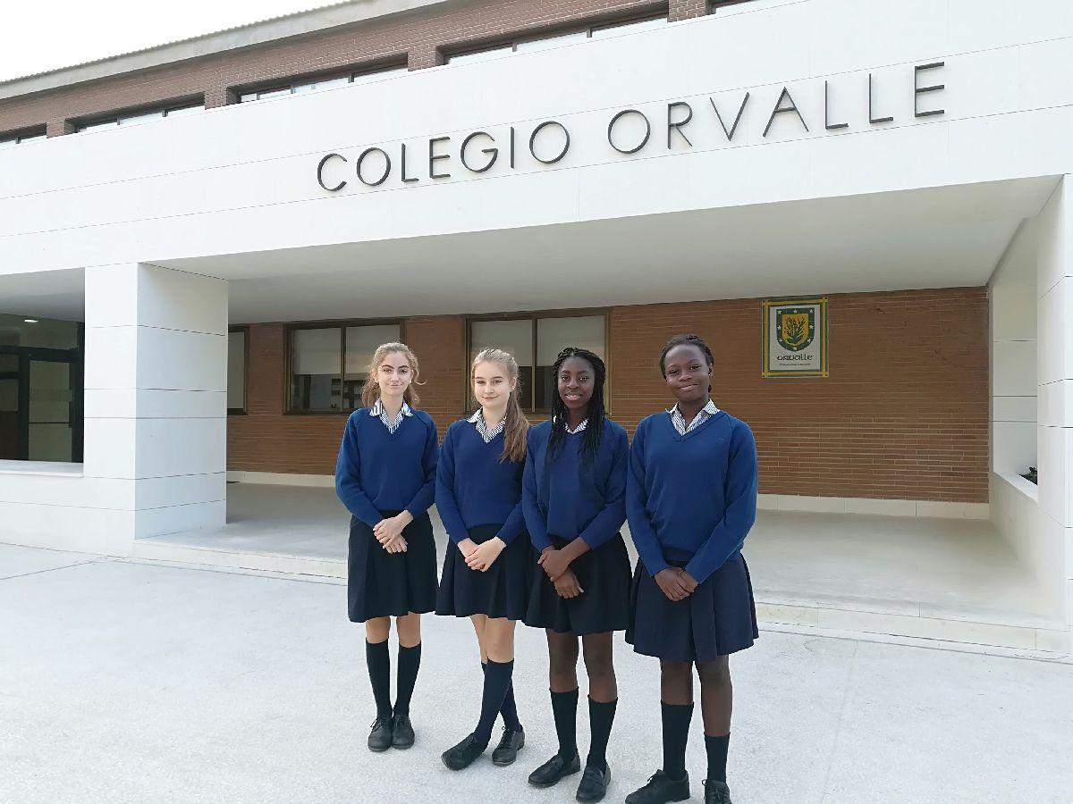 international exchange thelaurelsschool orvalle