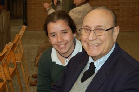 Alberto Olesti, abuelo de Orvalle