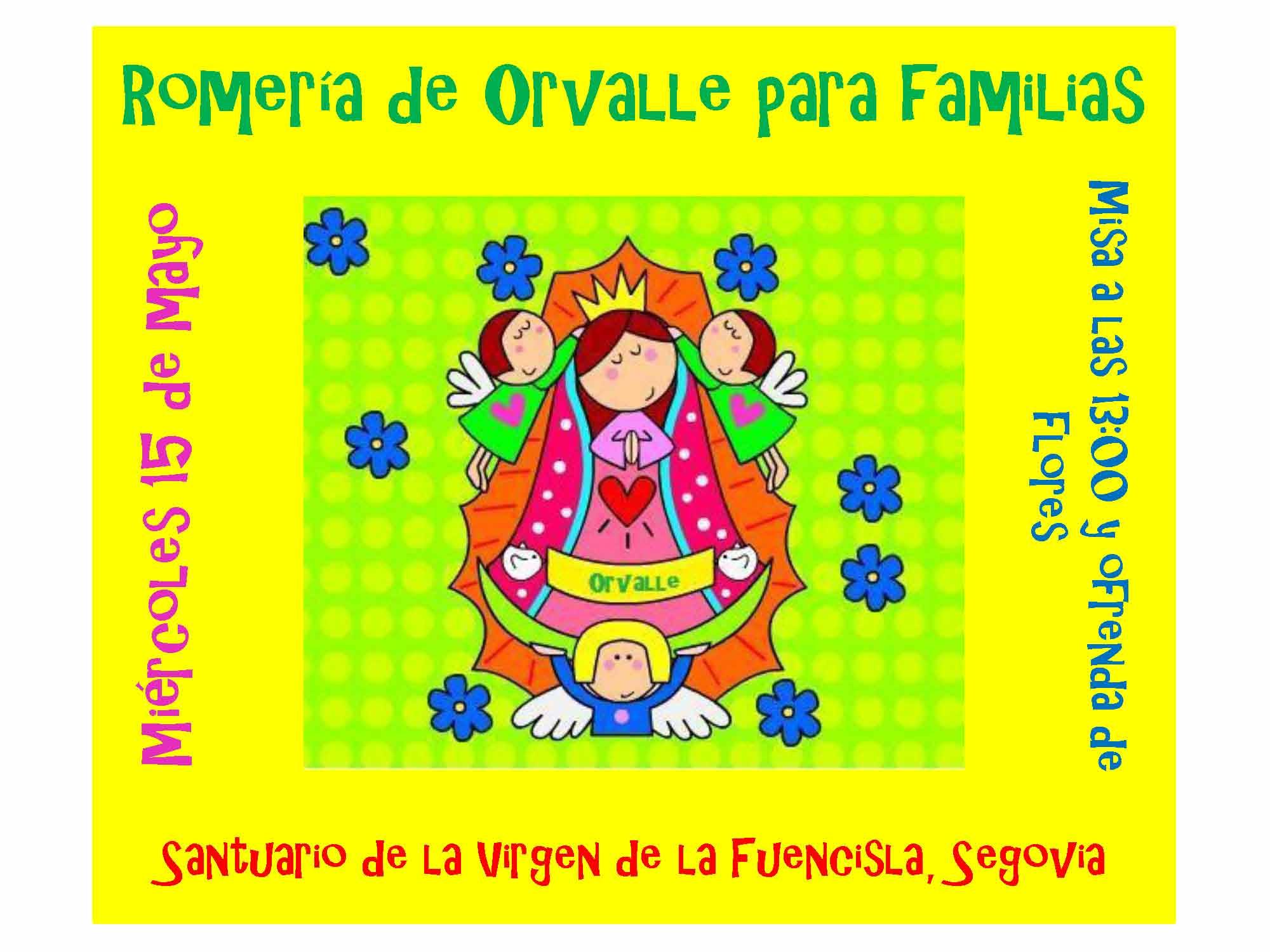 Cartel Romería Familias