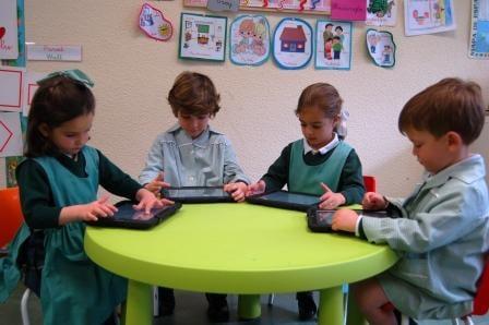 iPad en Infantil