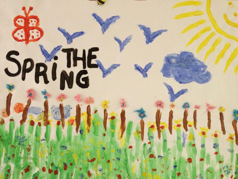 Colegio Orvalle: Infantil celebra la Primavera