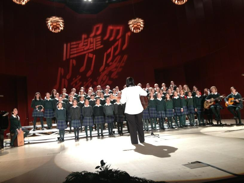 el Coro de Orvalle destaca en el Certamen de Villancicos de las Rozas