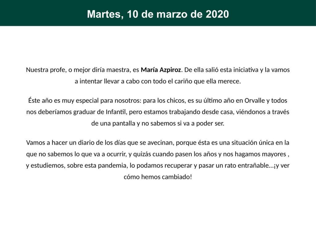 Diario de confinamiento 3o Infantil A 0003