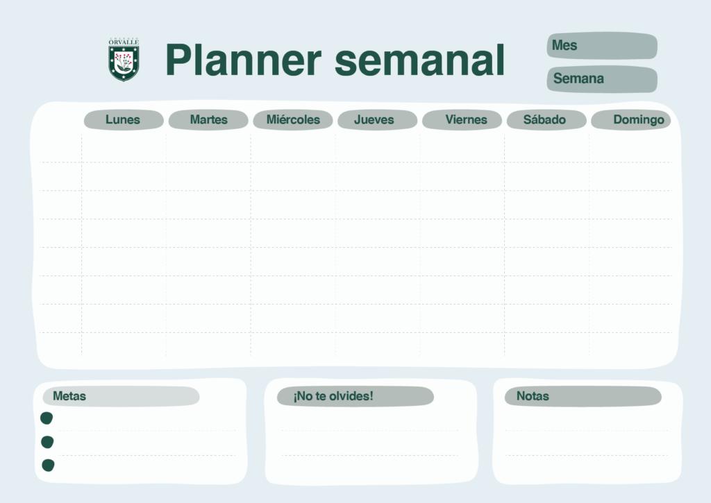 Planner Mesa de trabajo 1