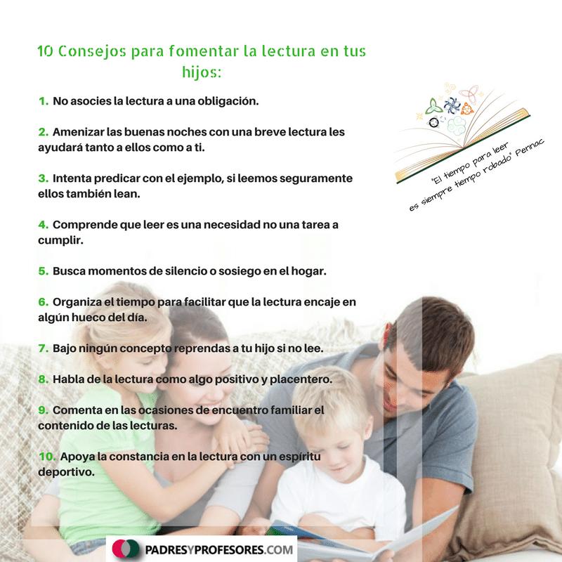 Fomentar la lectura en tus hijos