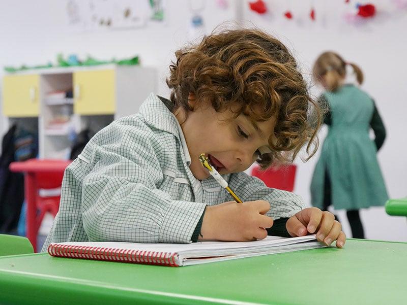 alumno preschool